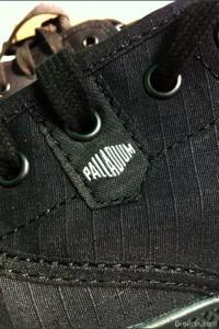 Palladium – Pampa Oxford LITE Jet Black-Metal – รองเท้าแนวอินดี้หล่อเบาลุย สไตล์พัลลาเดียม