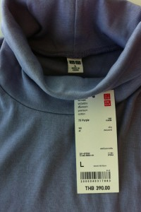 Uniqlo – Women Premium Cotton Turtle Neck Long Sleeve – ยูนิโคล่เสื้อยืดคอเต่า แขนยาว ผ้าฝ้ายพรีเมี่ยม นุ่มนิ่มใส่สบาย