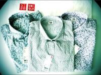 Uniqlo – Casual Men Print Long Sleeve Shirts – ยูนิโคล่ เสื้อเชิ๊ตแขนยาว พิมพ์ ลาย ดูดี ใส่สบาย