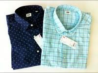Uniqlo – Oxford Check n' Printed Long Sleeve Shirts – รีวิว ยูนิโคล่ เสื้อเชิ๊ต แขนยาว  ลายสก๊อตต์ และ พิมพ์ลายหล่อๆ