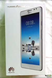 Huawei Ascend Mate Black Phablet - 01