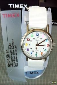 Timex Weekender Slip Thru - T2N837-07