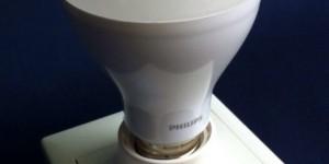 Häco E27 Lamp Holder & Philips 14W LED bulb - ขั้วหลอดเกลียว ฮาโก้ และ หลอดไฟ แอลอีดี 14วัตต์ ฟิลิปส์.