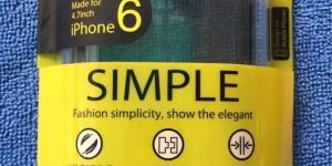 Baseus SIMPLE case for iPhone 6 - บาเซอุส เคสไอโฟนหก เรียบง่าย แนบเนียน