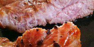 Convection Oven – Pork Shoulder Juicy Soft Steak - สเต๊ก สันคอหมู บ้านๆ เนื้อฉ่ำนุ่ม ด้วยหม้อฝาอบลมร้อน