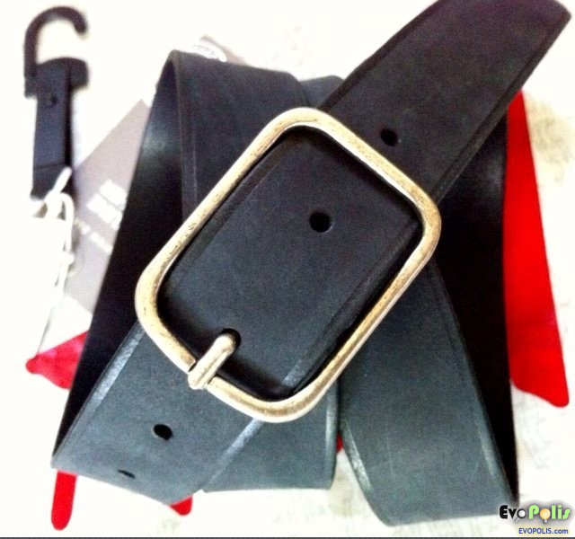 H&M Premium Lether Men's belt - เข็มขัดผู้ชาย หนังแท้ พรีเมี่ยม จาก เอช แอนด์ เอ็ม.