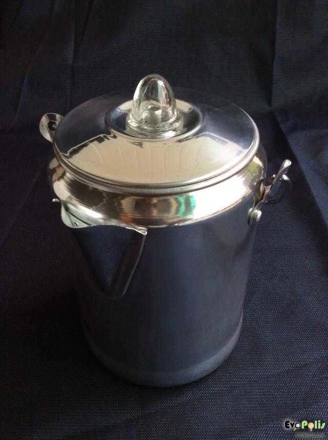 Old Fashioned Stovetop Coffee Percolator - รีวิว หม้อต้มกาแฟ ตั้งเตา สไตล์เก๋า รสชาติเยี่ยม